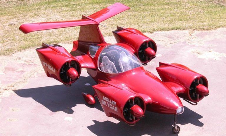 Cikal Bakal Mobil Terbang Ini Dijual di eBay