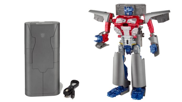 Powerbank Optimus Prime