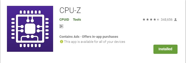 cara mengetahui prosesor smartphone HP android