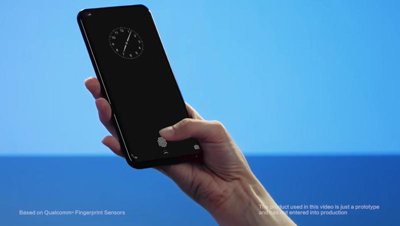 On-screen Fingerprint Vivo