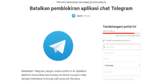 Netizen Buat Petisi Tolak Pemblokiran Telegram