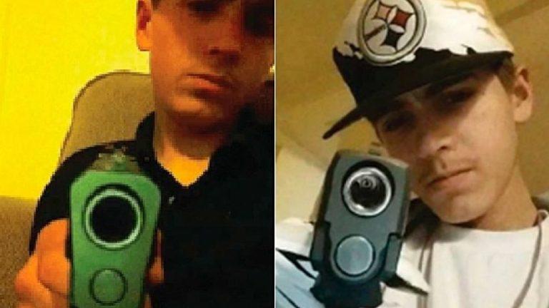Gara-gara Selfie, Pencuri Senjata Ini Masuk Bui
