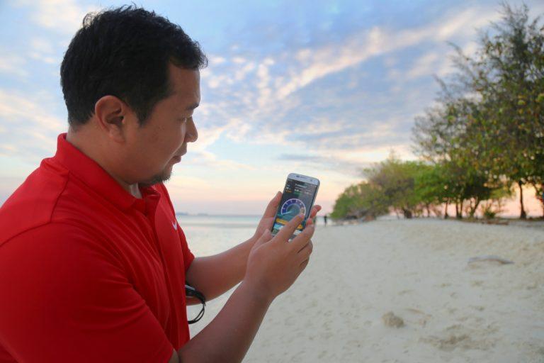 Sinyal 4G Telkomsel Selimuti Kepulauan Karimunjawa