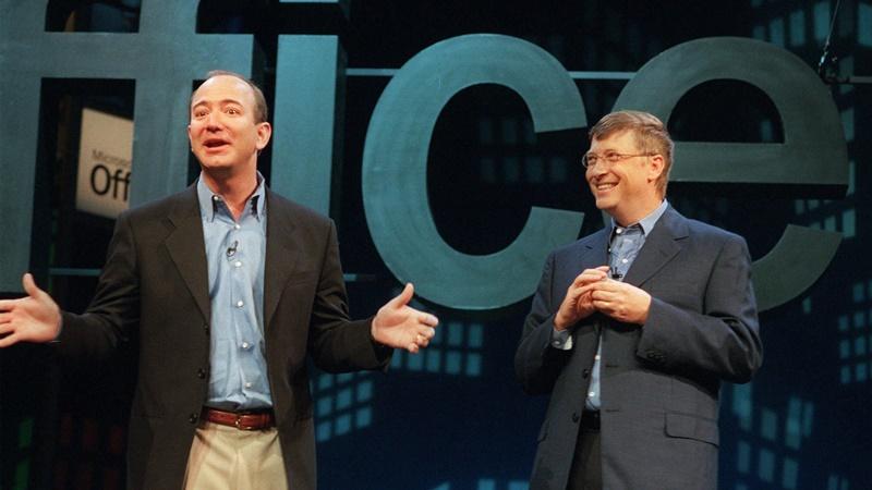 Rahasia Bill Gates dan Jeff Bezos