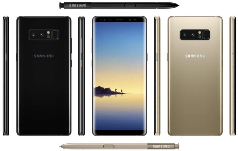 Beredar Bocoran Spesifikasi Lengkap Samsung Galaxy Note 8