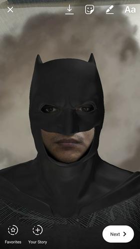 superhero instagram filter