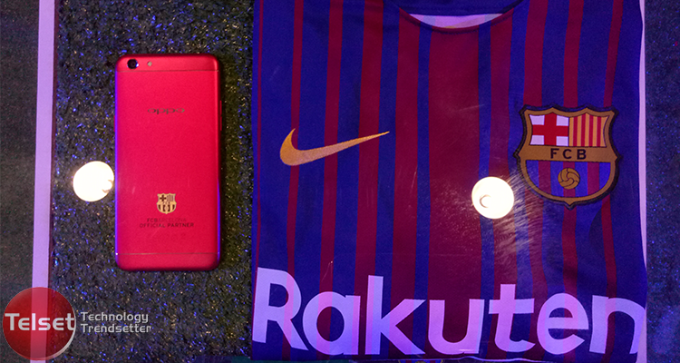 Oppo F3 FC Barcelona Edition Ada Tanda Tangan Messi