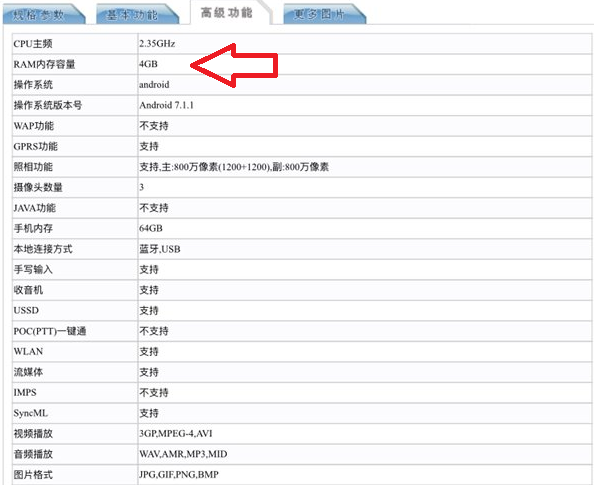 Samsung Galaxy Note 8 versi RAM 4GB