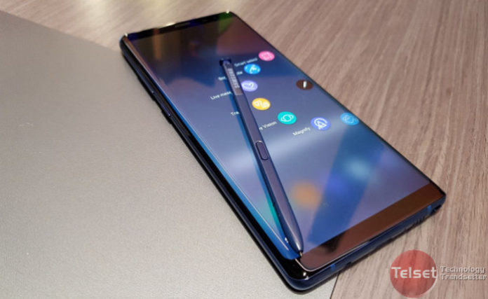 Layar Galaxy Note 8