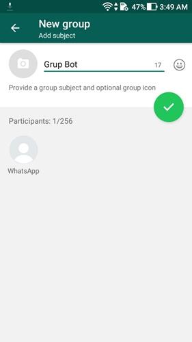 bot google assistant whatsapp