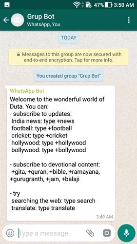 google assistant di whatsapp