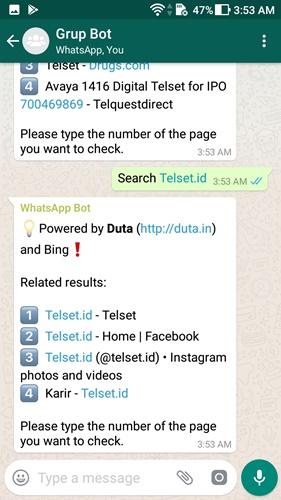 asisten google di whatsapp