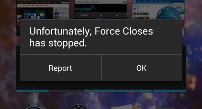 Cara Mengatasi Force Close