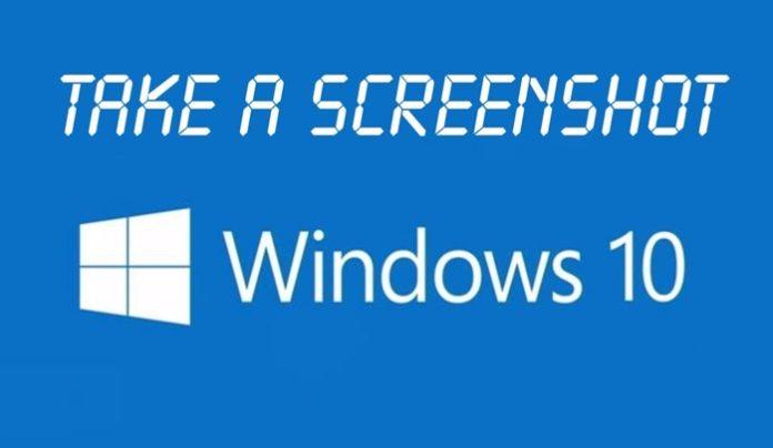 screenshot di komputer
