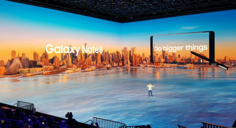 Samsung Galaxy Note 8: Cerita dari New York