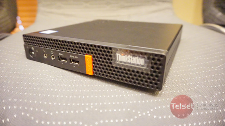 Lenovo ThinkStation Tiny (telset.id | nur chandra)