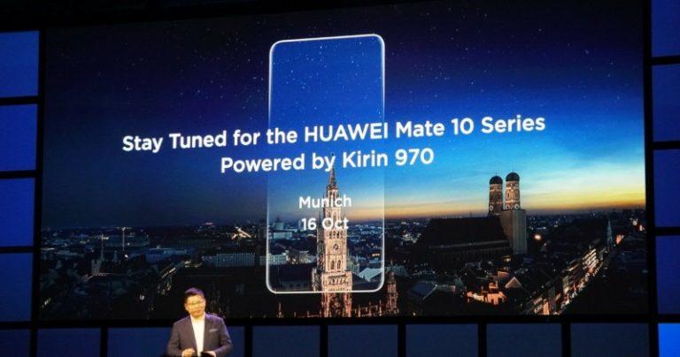 Huawei Mate 10 Siap 'Ganggu' Galaxy Note 8 dan iPhone 8?