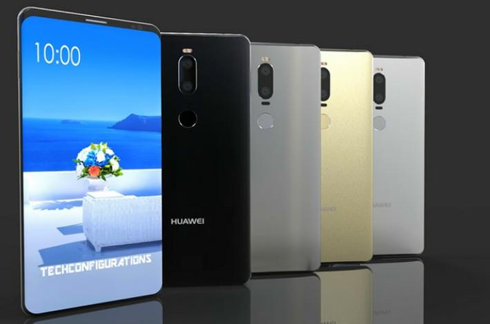 Keren! Ini Tampilan Asli Huawei Mate 10