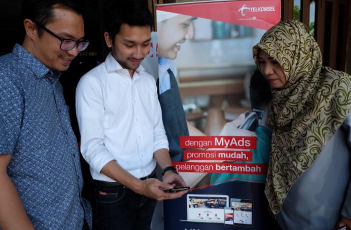 Telkomsel MyAds Sasar UMKM Kota Bandung