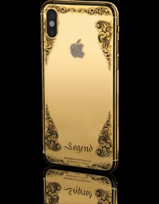 iPhone X 'Momentum' Berlapis Berlian Seharga Rp 60 Juta