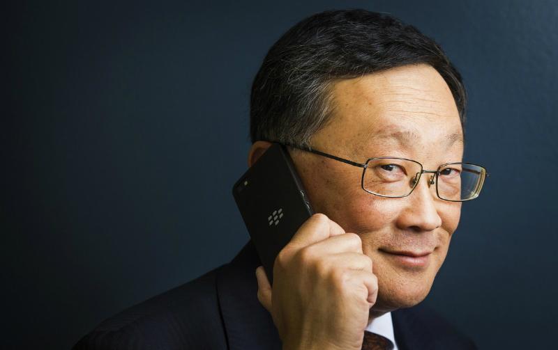CEO BlackBerry John Chen (crackberry)