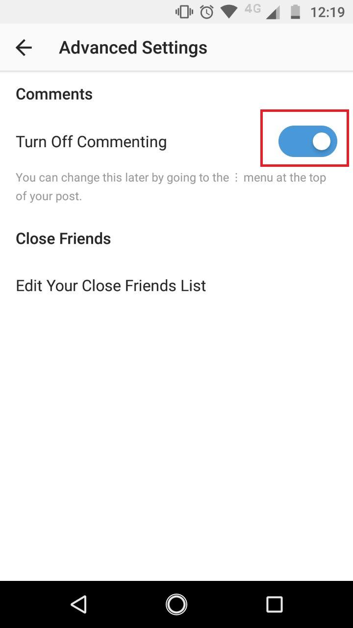 Blok Kolom Komentar Instagram (telset.id | nur chandra)
