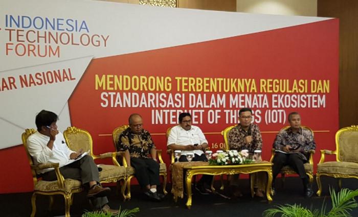 Suasana acara seminar (Maulia Salamuddin/Telset.id)