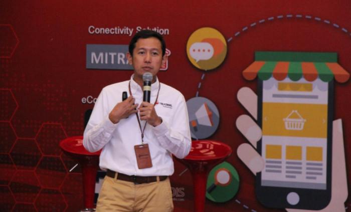 VP Enterprise Mobile Product Marketing Telkomsel Arief Pradetya (Foto: Dok. Telkomsel)