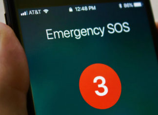 iOS 11 Emergency SOS (telset.id | nur chandra)
