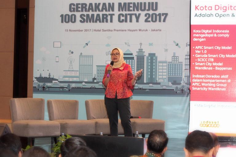 """Indosat Ooredoo  Dukung """"Gerakan Menuju 100 Smart City"""""""