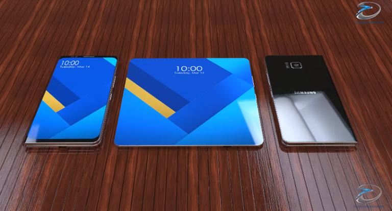 Bentuk Samsung Galaxy X Mirip ZTE Axon M?