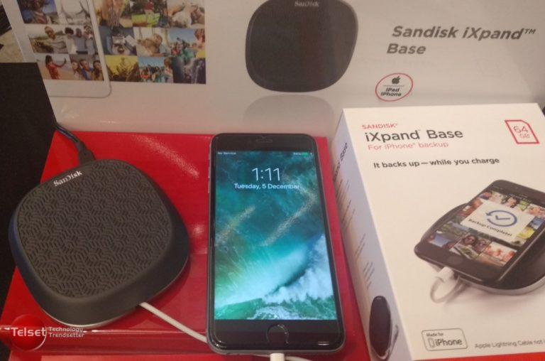 Begini Cara Gunakan SanDisk iXpand Base di iPhone