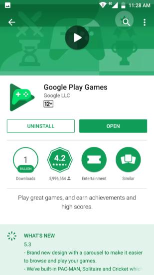 Lihat History Game Android dengan Google Play Games