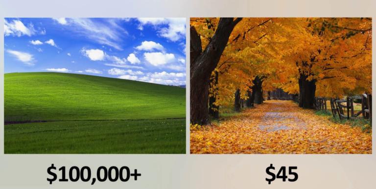 Tidak Gratis, Wallpaper Windows XP Harganya Rp 1,3 Miliar