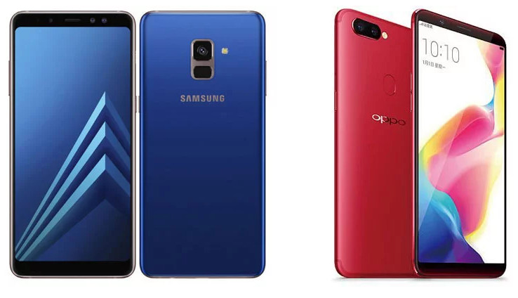 Perbandingan Spesifikasi : Samsung Galaxy A8 vs Oppo R11s