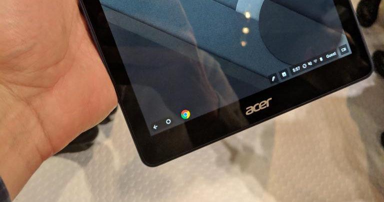 Inikah Tablet Pertama dengan Sistem Operasi Chrome?