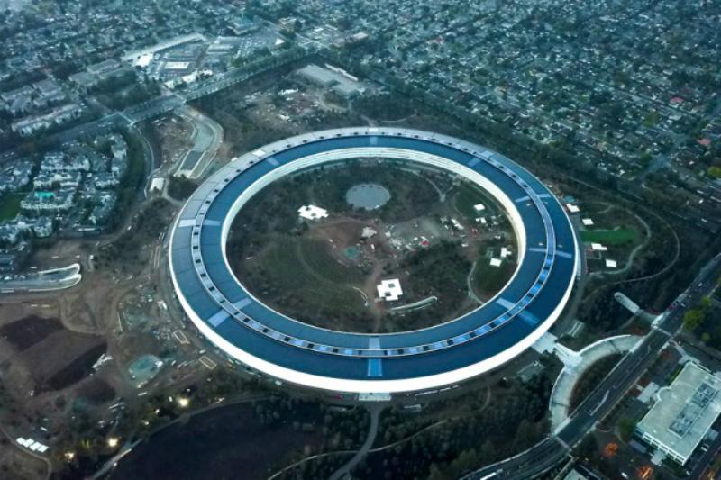Markas 'UFO' Milik Apple Sudah Mulai Dihuni