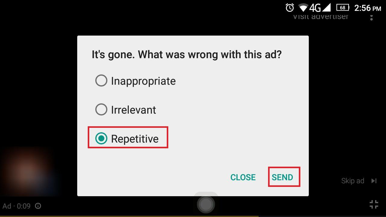 menghilangkan iklan youtube