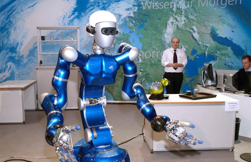 Robot humanoid Justin