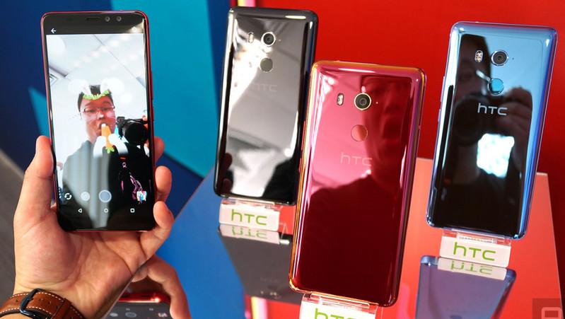 "HTC U11 Eyes, ""Dual Selfie"" dengan Efek Bokeh"