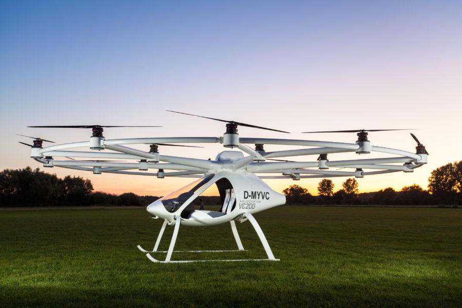 Intel Volocopter VC200
