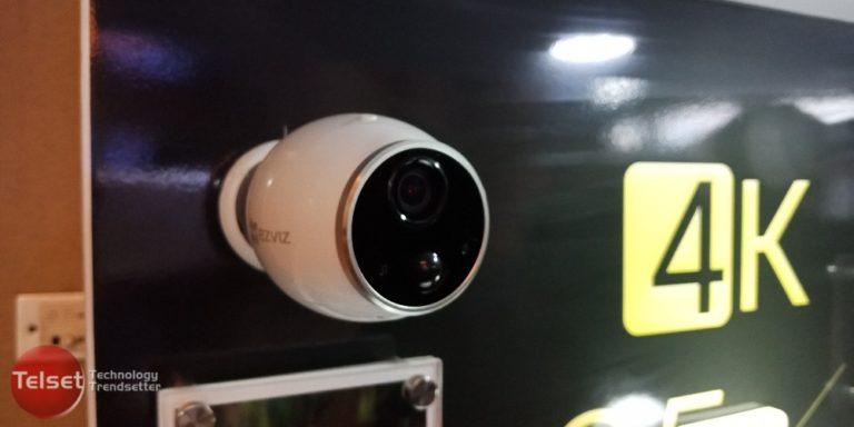 EZVIZ Mini Trooper, CCTV Pintar Tanpa Kabel