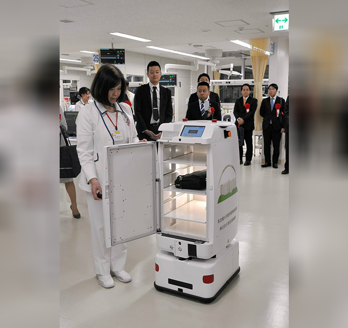 """Rumah Sakit Ini Pekerjakan """"Suster Robot"""""""