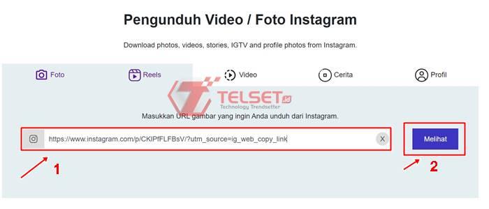 Simpan Postingan Instagram Orang Lain