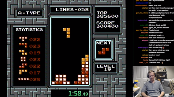 Rekor dunia Tetris