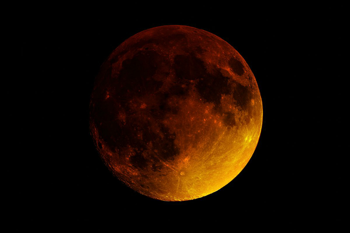 Super Blood Moon (the verge)