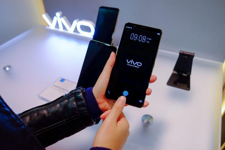 Vivo Pamer Smartphone dengan Sensor Sidik Jari di Layar