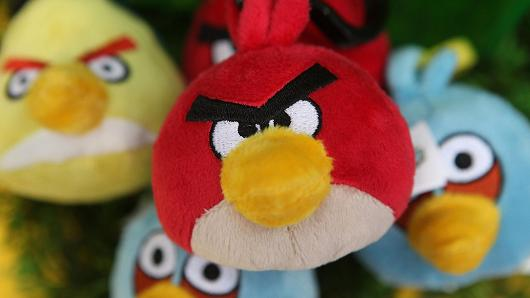 Angry Birds Makin Tak Laku, Saham Rovio Anjlok