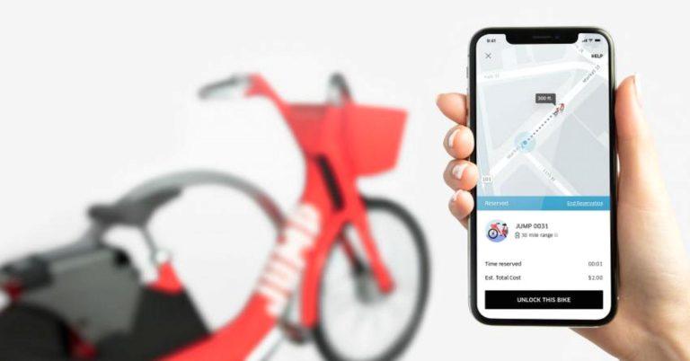 Bukan Becak, Uber Sediakan Layanan Sepeda Online