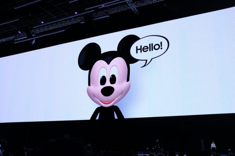 Ada Mickey Mouse dkk di AR Emoji Galaxy S9